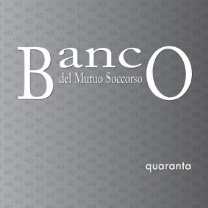 Banco Del Mutuo Soccorso - Quaranta (live Prog Exhibition 2010) CD (album) cover