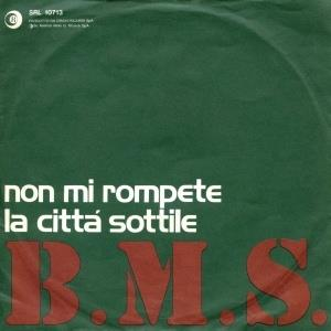 Banco Del Mutuo Soccorso - Non Mi Rompete CD (album) cover