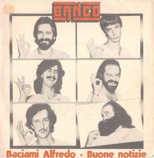 Banco Del Mutuo Soccorso - Baciami Alfredo CD (album) cover