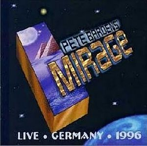 Peter Bardens - Mirage -live,germany 1996 CD (album) cover