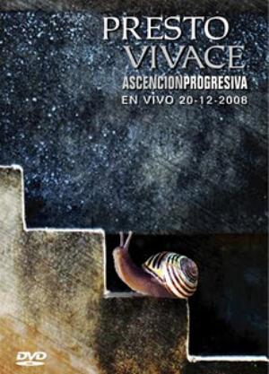 Presto Vivace Ascensi�n Progresiva CD album cover