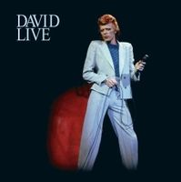 David Bowie - David Live CD (album) cover