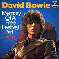 DAVID BOWIE - Memory Of A Free Festival CD album cover