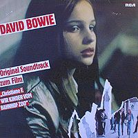 David Bowie - Soundtrack Christiane F. - Wir Kinder Vom Bahnhof Zoo CD (album) cover