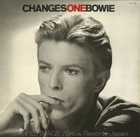 DAVID BOWIE - Changes One CD album cover