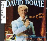 David Bowie - Rock'n'Roll Suicide CD (album) cover