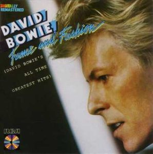 David Bowie - Fame And Fashion (david Bowie's All Time Greatest Hits) CD (album) cover