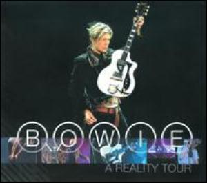 David Bowie - A Reality Tour CD (album) cover