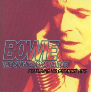 David Bowie - The Singles 1969 To 1993 CD (album) cover