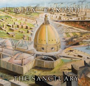ALEX CARPANI BAND - The Sanctuary CD album cover