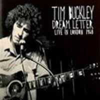 Tim Buckley - Dream Letter: Live In London 1968 CD (album) cover