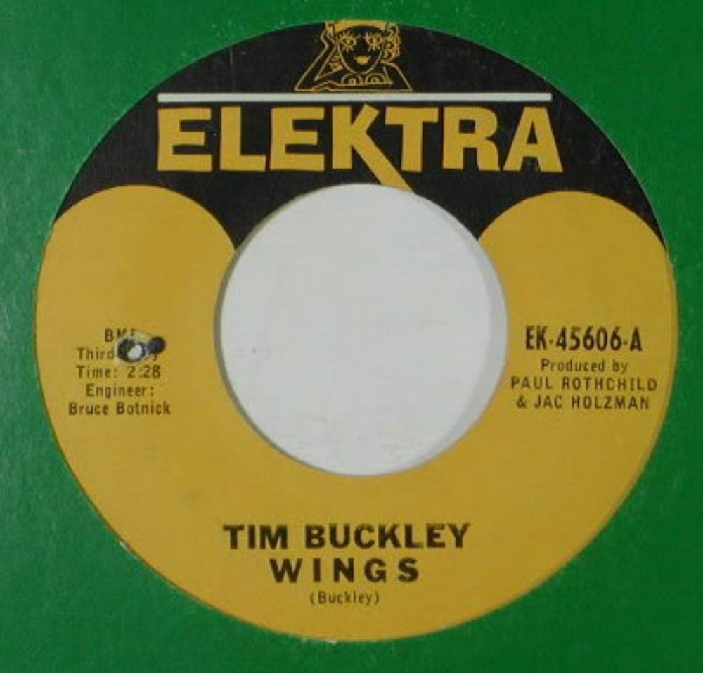 Tim Buckley - Wings / Grief In My Soul CD (album) cover