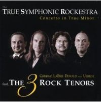 True Symphonic Rockestra - Concerto In True Minor CD (album) cover