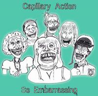 Capillary Action - So Embarrassing CD (album) cover