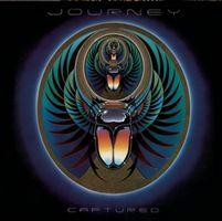 Journey - Captured CD (album) cover