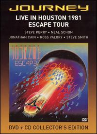 Journey - Live In Houston 1981: The Escape Tour DVD (album) cover