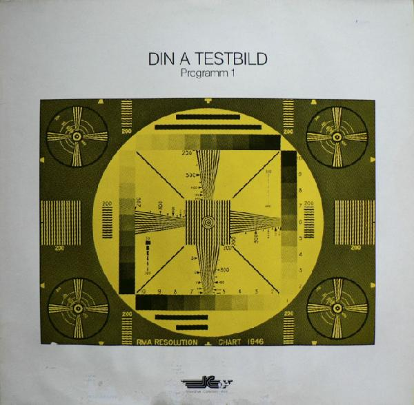 Din A Testbild - Programm 1 CD (album) cover