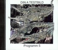 Din A Testbild - Programm 5 Sample Attack CD (album) cover