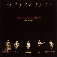 Steeleye Span - Live At Last CD (album) cover