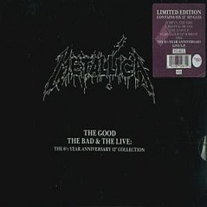 Metallica - The Good, The Bad And The Live CD (album) cover