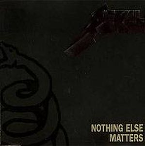 Metallica - Nothing Else Matters CD (album) cover