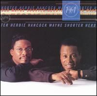Herbie Hancock - 1 + 1 [with Wayne Shorter] CD (album) cover