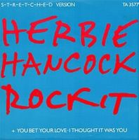 Herbie Hancock - Rockit CD (album) cover