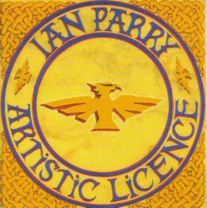 Ian Parry - Artistic License CD (album) cover