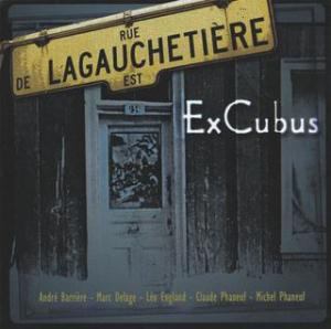 EXCUBUS - Lagauchetière CD album cover