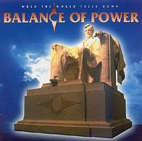 Balance Of Power - When The World Falls Down CD (album) cover