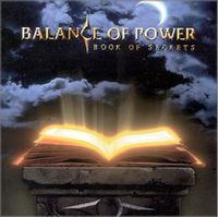 Balance Of Power - Book Of Secrets CD (album) cover