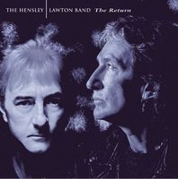 Ken Hensley - The Hensley | Lawton Band. The Return CD (album) cover