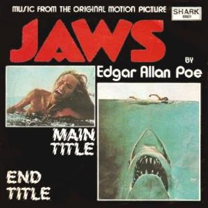EDGAR ALLAN POE - Jaws CD album cover