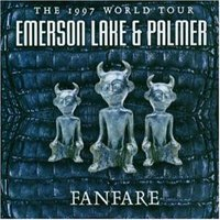 Elp (emerson Lake & Palmer) - Fanfare : The 1997 World Tour CD (album) cover