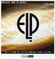 Elp (emerson Lake & Palmer) - Lucky Man (live Compilation) CD (album) cover