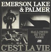 Elp (emerson Lake & Palmer) - C'est La Vie / Hallowed Be Thy Name CD (album) cover