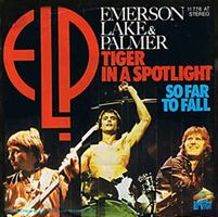 Elp (emerson Lake & Palmer) - Tiger In A Spotlight / So Far To Fall CD (album) cover