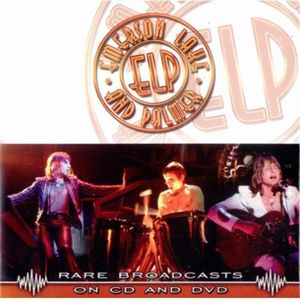 Elp (emerson Lake & Palmer) - Rare Broadcasts DVD (album) cover