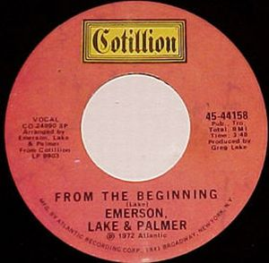 Elp (emerson Lake & Palmer) - From The Beginning CD (album) cover