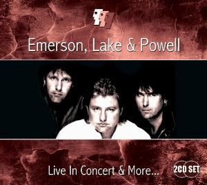 Elp (emerson Lake & Palmer) - Emerson, Lake And Powell - Live In Concert And More... CD (album) cover