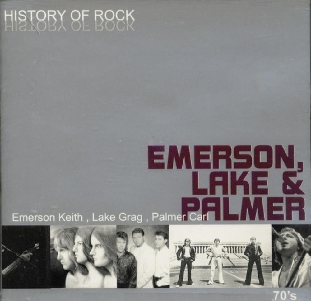 Elp (emerson Lake & Palmer) - History Of Rock CD (album) cover