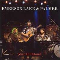 Elp (emerson Lake & Palmer) - Live In Poland CD (album) cover