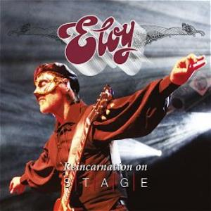 Eloy - Reincarnation On Stage CD (album) cover