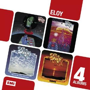Eloy - Inside / Floating / Power And The Passion / Dawn CD (album) cover