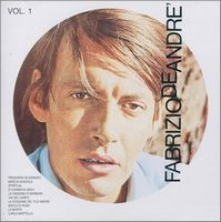 Fabrizio De Andre - Volume I CD (album) cover
