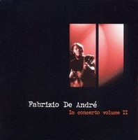 Fabrizio De Andre - In Concerto Volume II CD (album) cover
