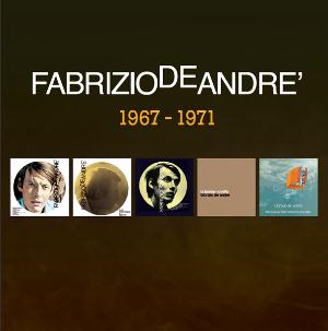 Fabrizio De Andre - 5 Album Originali 1967 - 1971 CD (album) cover