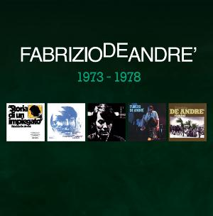 Fabrizio De Andre - 5 Album Originali 1973 - 1978 CD (album) cover