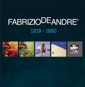 Fabrizio De Andre - 5 Album Originali 1979 - 1990 CD (album) cover