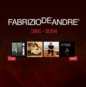 Fabrizio De Andre - 5 Album Originali 1991 - 2004 (4cd+dvd) CD (album) cover
